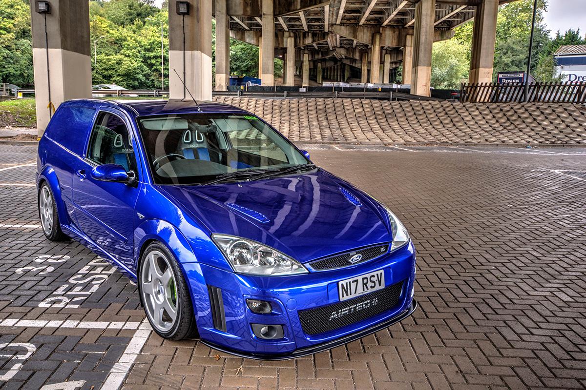 Performance Ford Focus RS Van